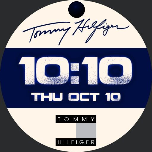 Tommy Hilfiger White  Blue