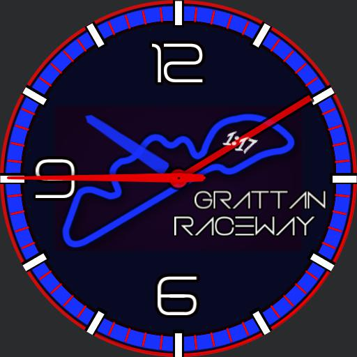 Grattan Raceway blue