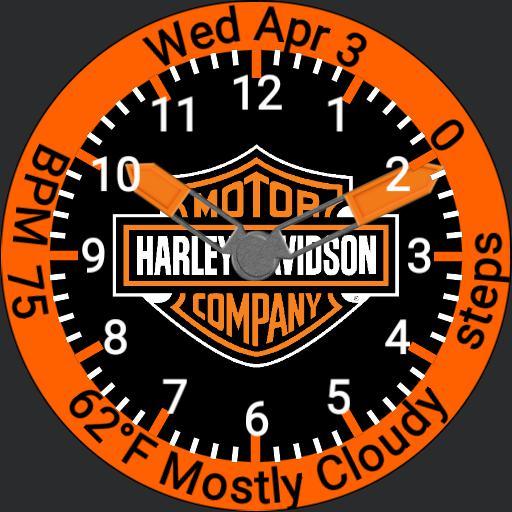 harley Davidson bar and shield