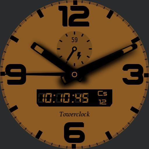 Towerclock yellow - color