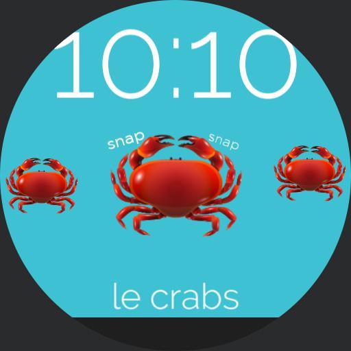 le crabs