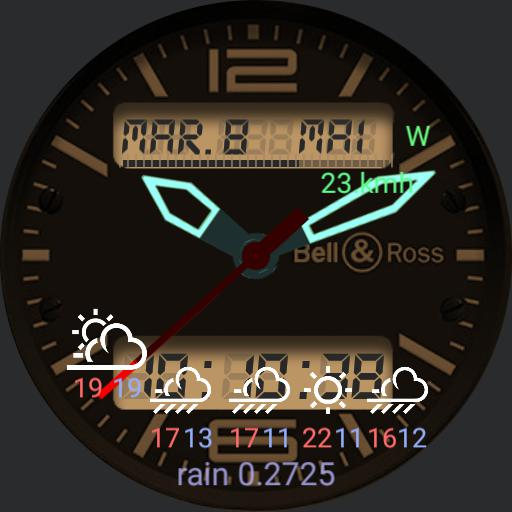Dual face AnaDig  Agenda with Weather Details - HD logo Copy
