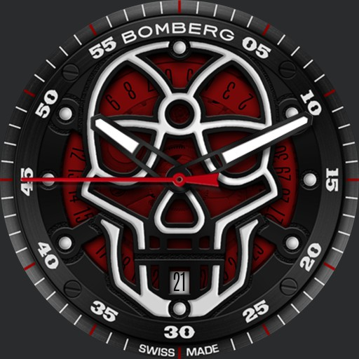 BOMBERG BB-01 AUTOMATIC SKULL 3-in-1