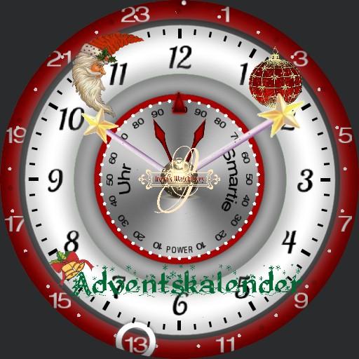 Adventskalender 1-24 Dim