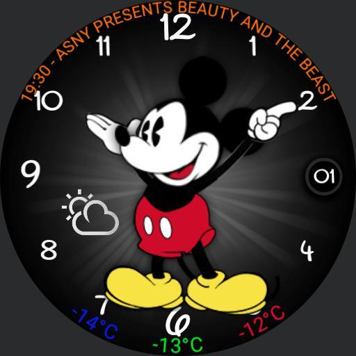 Mickey Mouse no dim