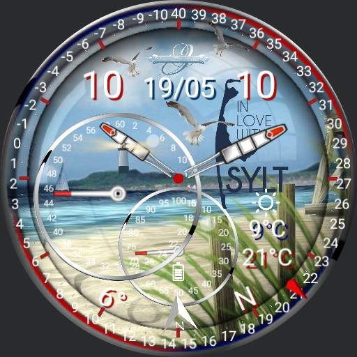Sylt Watch Wetter Compass 2