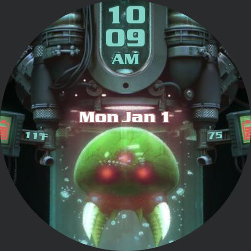 Metroid Watch Face