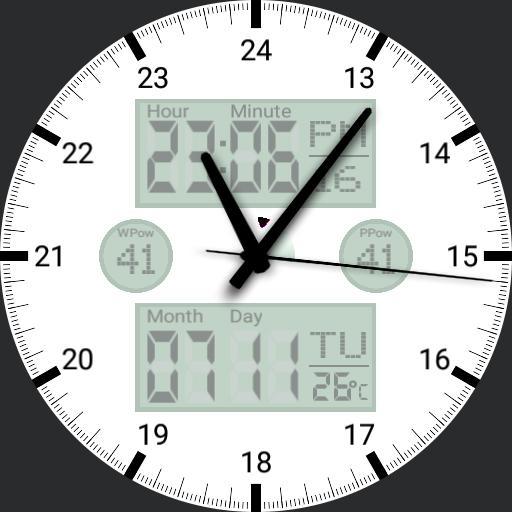 Urban Clock Info V1