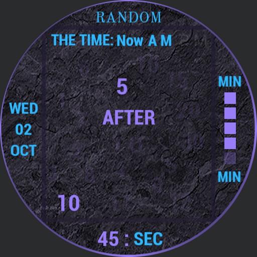 RANDOM , time with Fader. V1.00