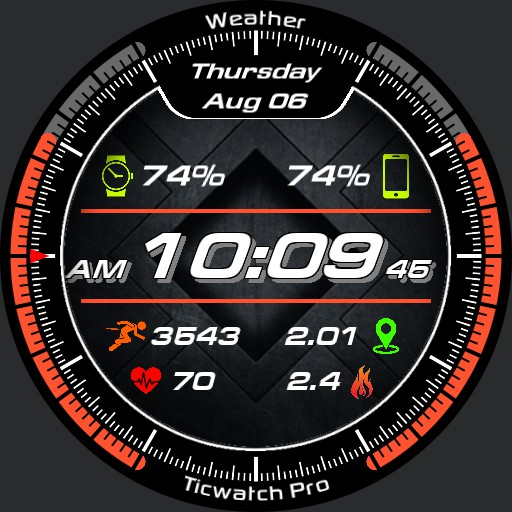 Weather Screen Watch V0.0