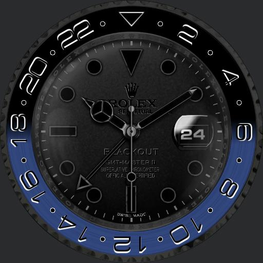 RLX GMT Master II Blackout