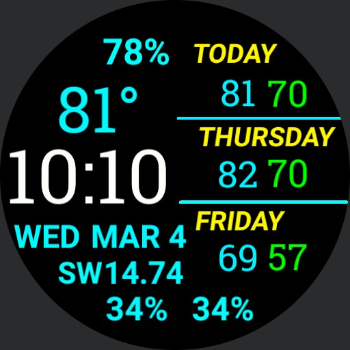 Weather Forecast Watch Copy