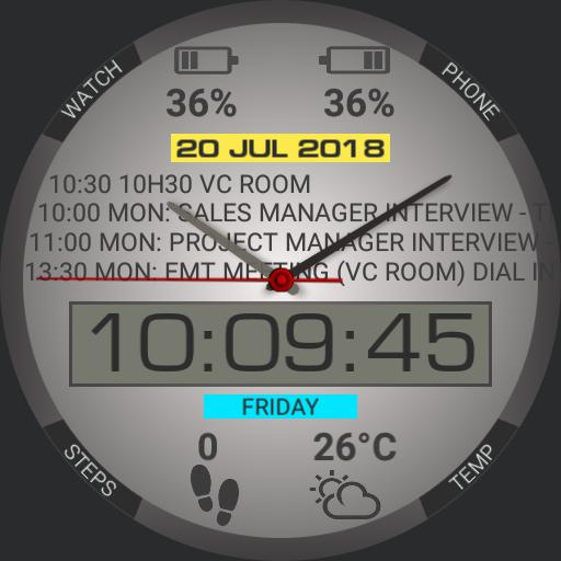 Agenda LCD