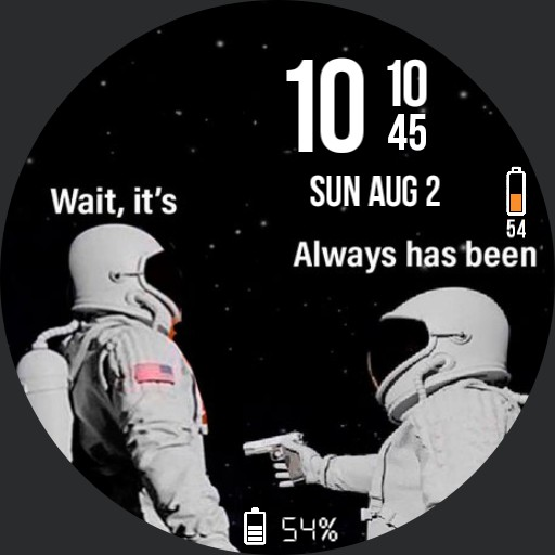 It always has been a watch face