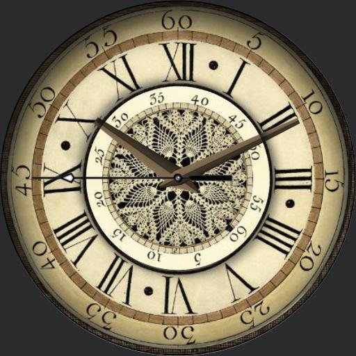 Laced Clock
