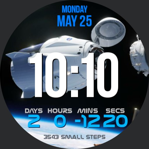 Space Rocket Launch Countdown