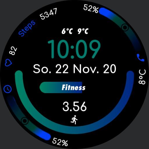 Apple Watch Sport Blue  Copy