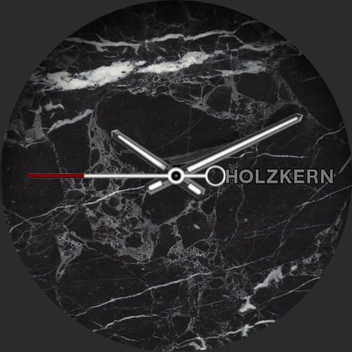 Holzkern Dark Marble Watch