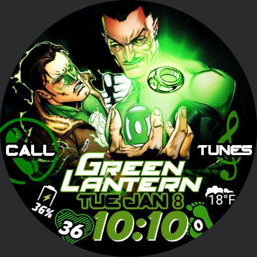 Becoming Green Lantern