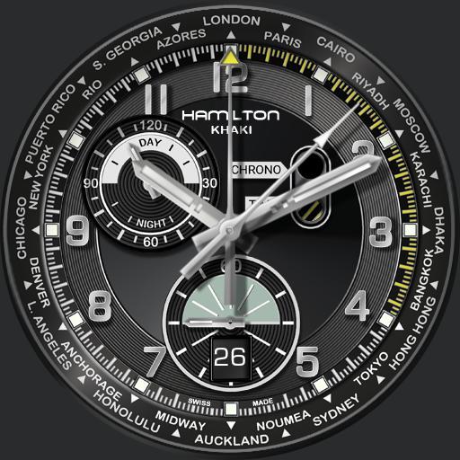 Khaki World Timer rc2