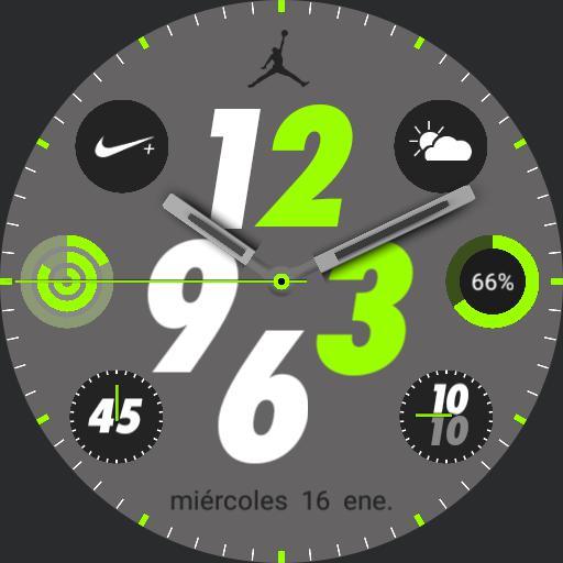 Nike Apple watch jordan 6 by geeceejay
