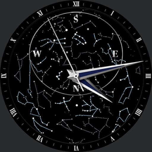 CAOS le Sky Chart