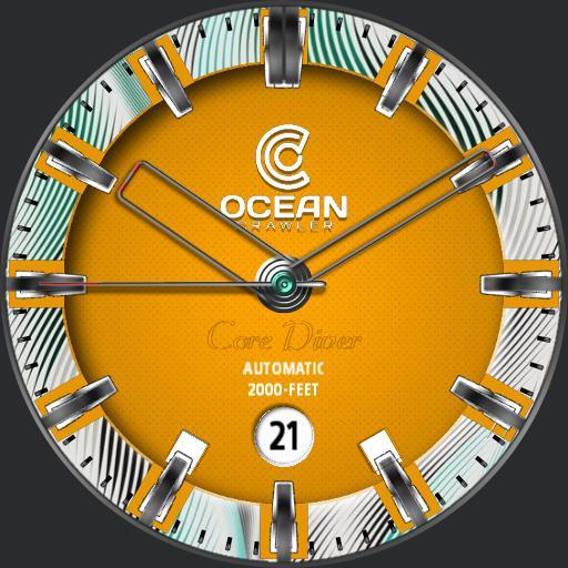 ocean crawler core diver watch