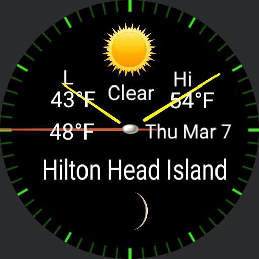 simple weather watch