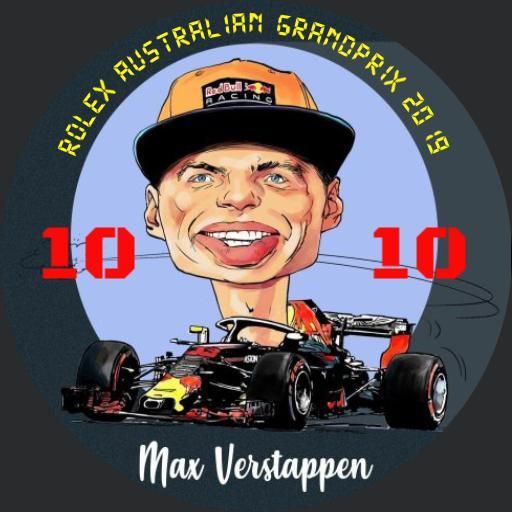 Mav Verstappen watch digital 2