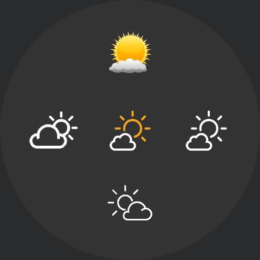 Sun/Moon Weather sprites - including code NO WATCHFACE