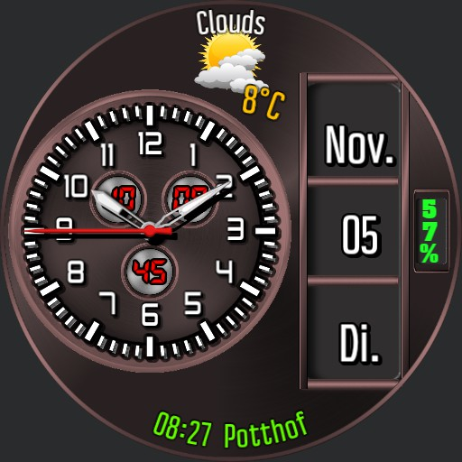 0122 combined clock