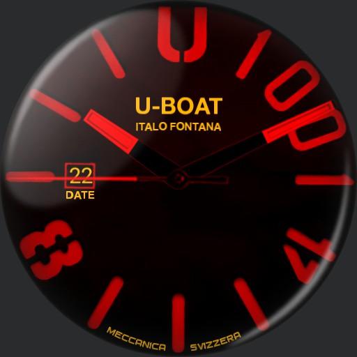 U-BOAT LUMI RED