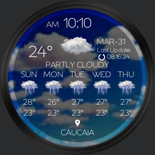 FORECAST LIVE Watch Face