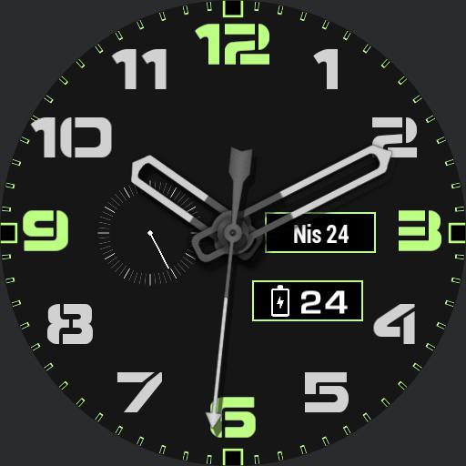 Classic Modern watch.