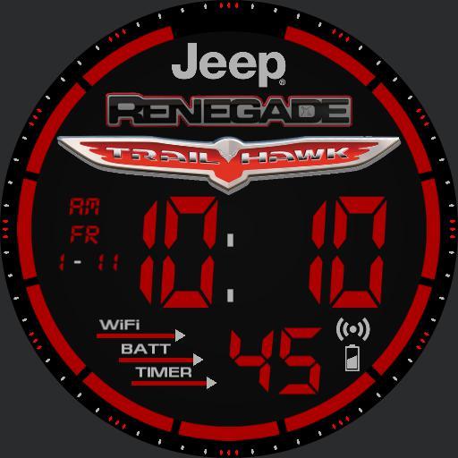 Jeep Renegade Trailhawk Watch