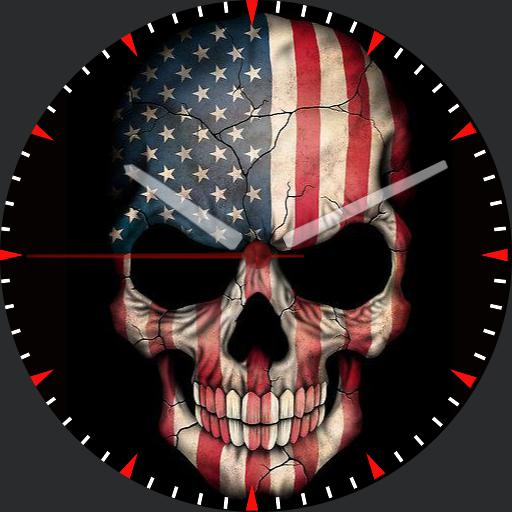 Patriotic Skull