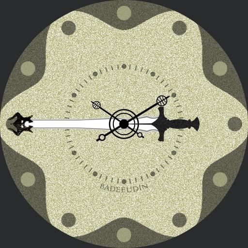elder scroll skyrim steel sword watch