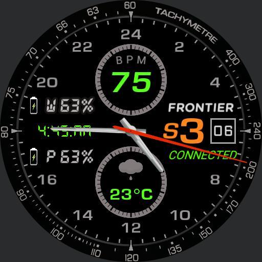 frontier  connected black digital