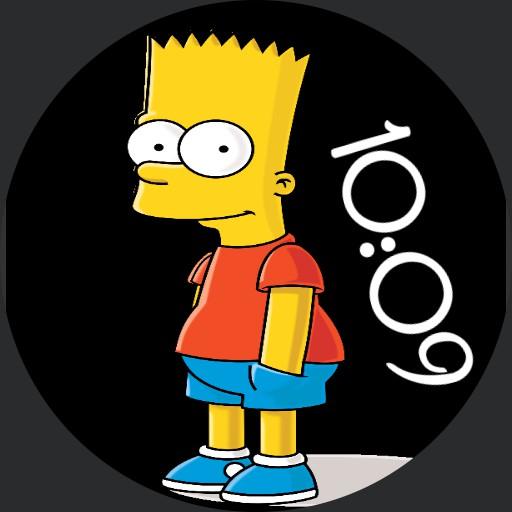 Bart Simpson double pic