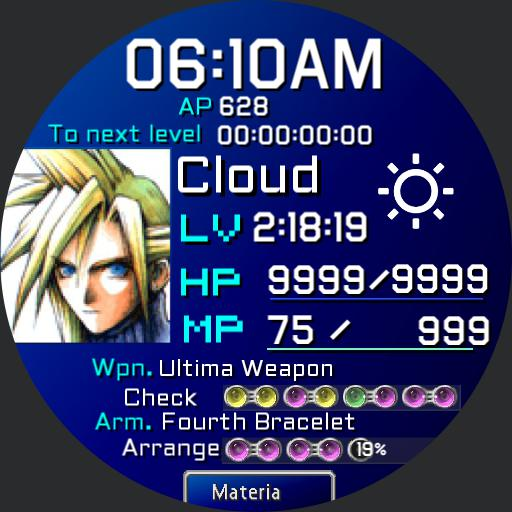 Final Fantasy 7 FF7 Cloud