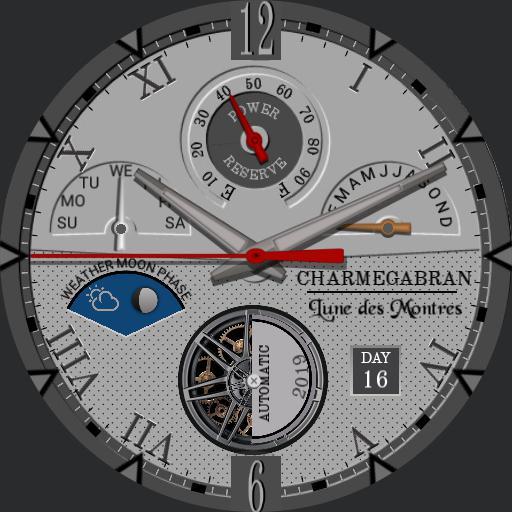 CHARMEGABRAN, Lune des Montres