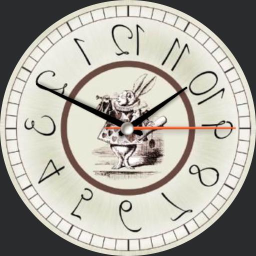 Alices backward watch