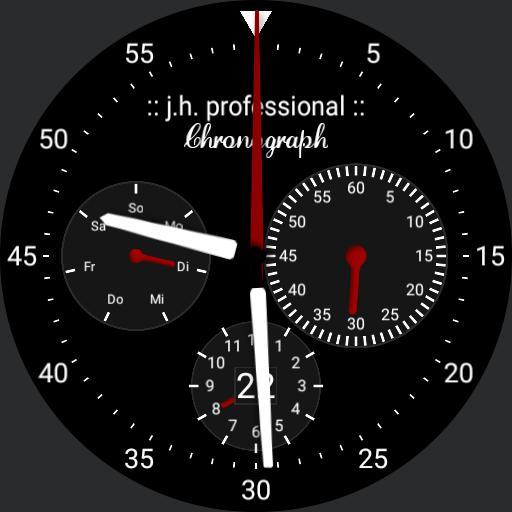 j.h. chronograph