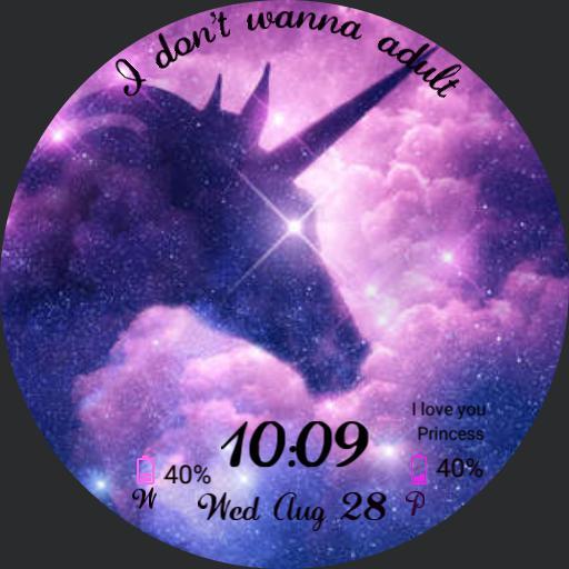 Galaxy Unicorn I dont wanna adult S3