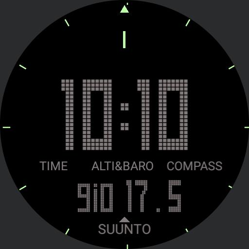 Suunto All Black