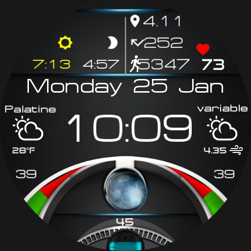 Digital with Globe v.2