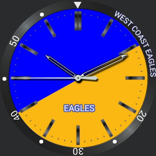 my attempt  at West Coast Eagles face