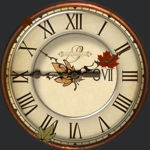 Herbst 1 Animation  Laub faellt
