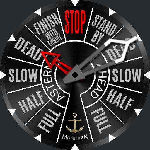 ship telegraph moreman