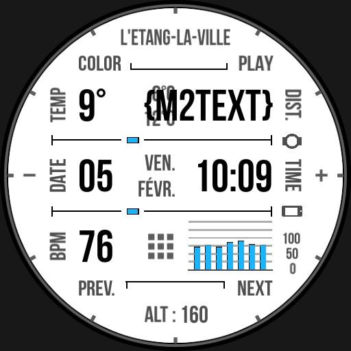 Benolf Ticwatch grid II music